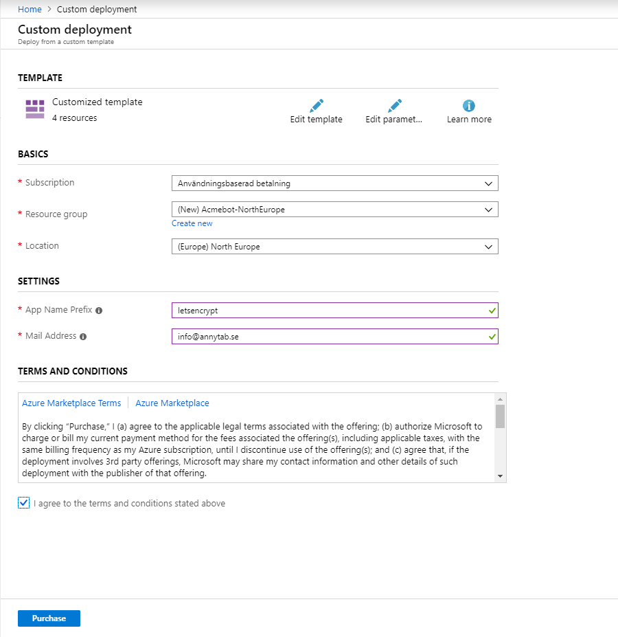 Install App Service Acmebot